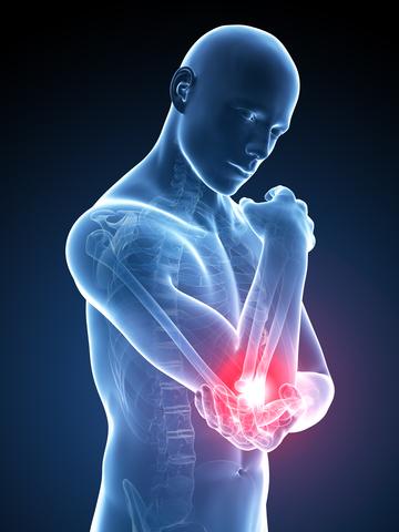 tratamentul reflectat al durerilor de cot artroza articulației umărului 2 3 grade