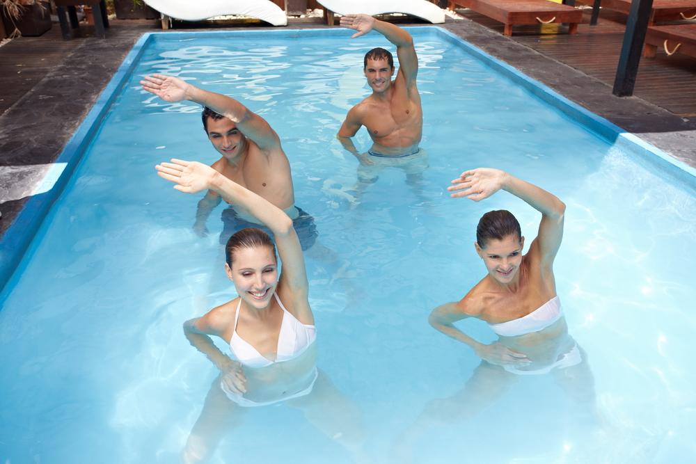 Genunchi umflat - tehnicolor.ro - Aerobic pentru apă pentru bolile articulare