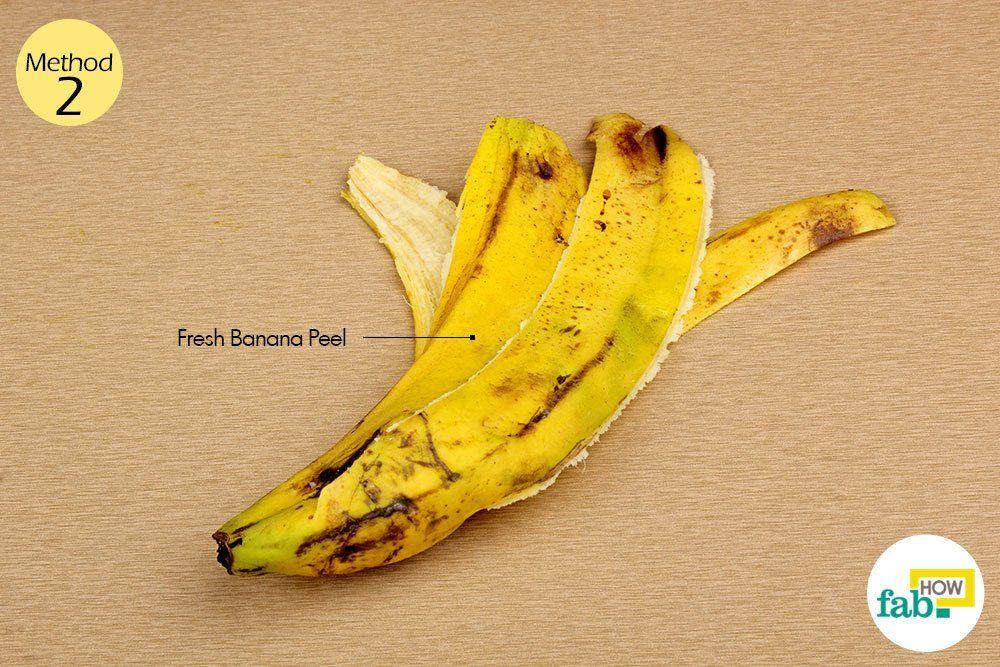 tratament comun cu banana