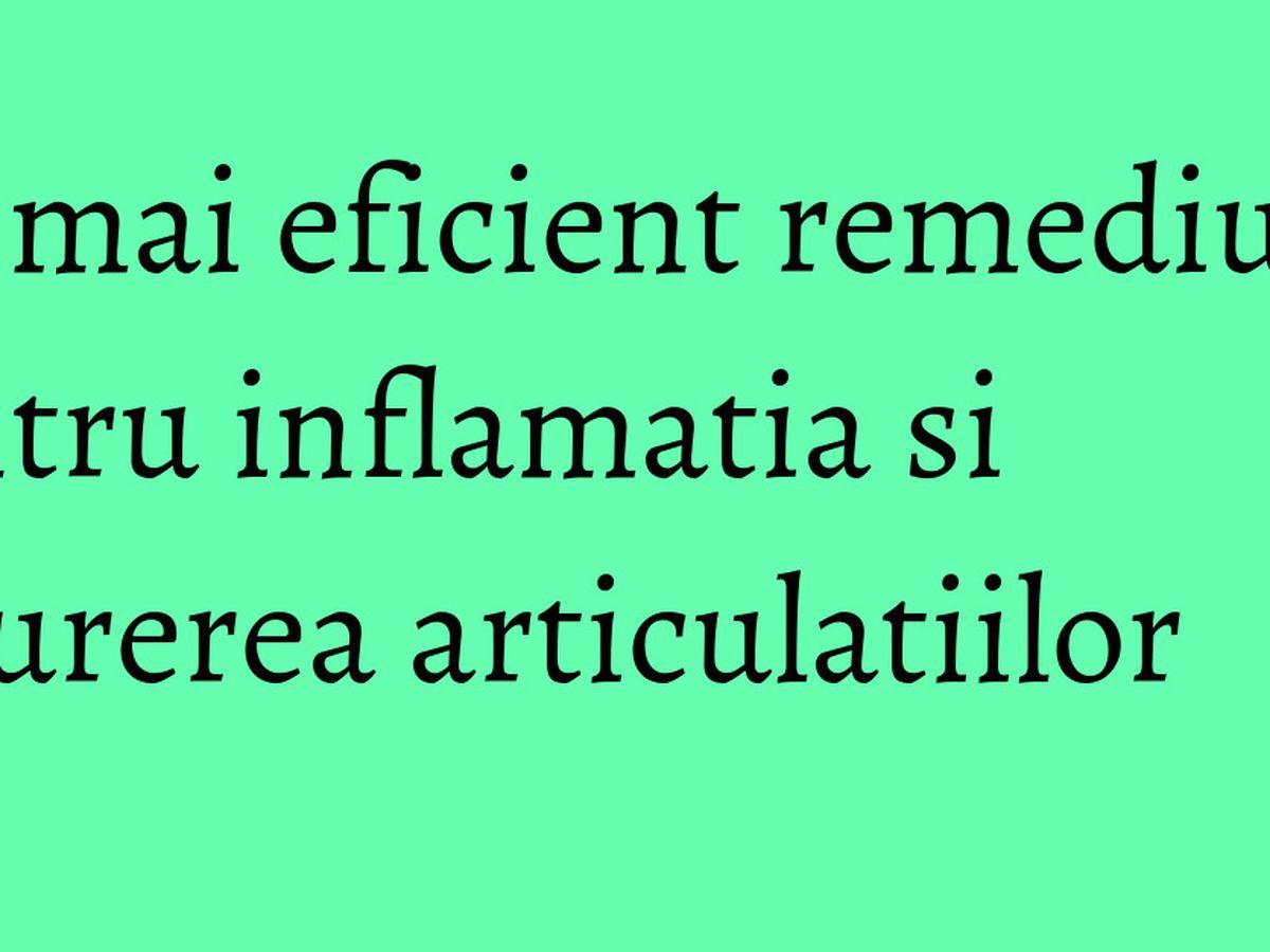inflamația articulațiilor lombare
